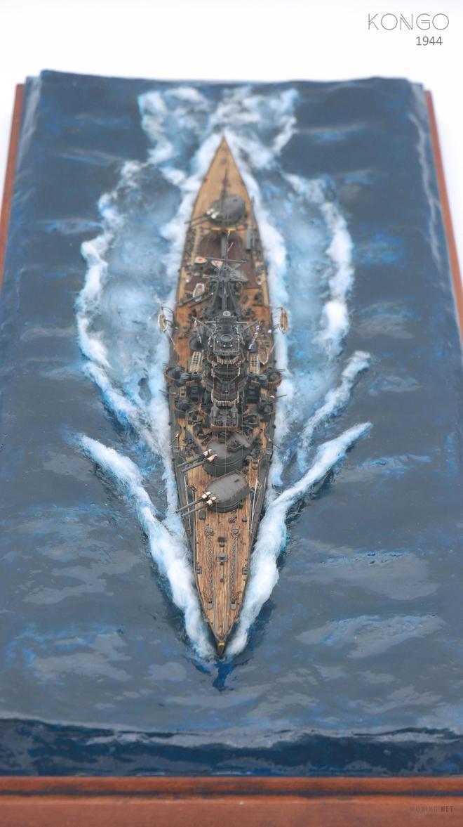 二戰期間舊日本海軍戰列艦金剛號-戰列艦高層建築違搭亂建的典型