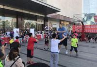 中國青少年英語籃球俱樂部在我市舉辦活動