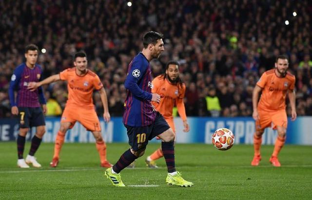 不要挑戰梅西,里昂的進球徹底激活了他