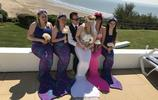 一場浪漫的美人魚的婚禮,你們外國人真會玩