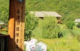 瀘沽湖觀景臺可以眺望瀘沽湖全景