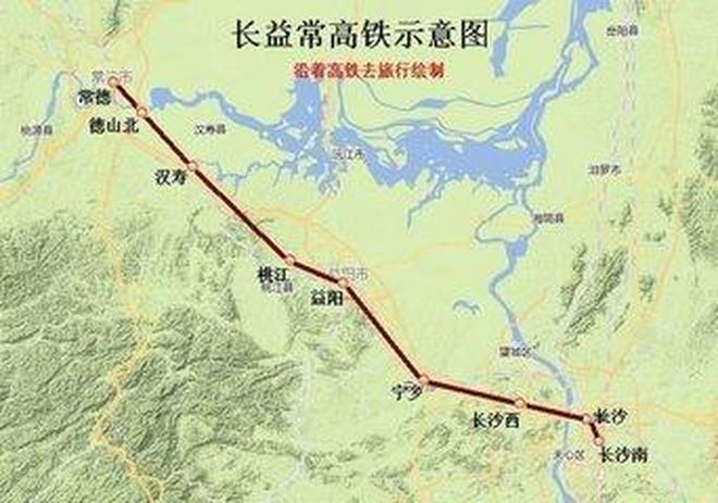 湖南這條在建高鐵,時速350公里,耗資277億,這3城成最大贏家