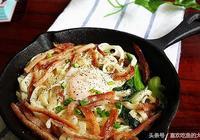 培根新式吃法:培根雞蛋煎麵做法介紹