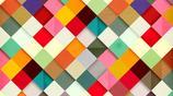 7張多彩方格數碼藝術作品精美手機壁紙欣賞