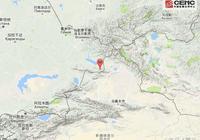 哈薩克斯坦發生5.4級地震