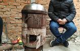 農村沒有暖氣,村民是怎麼取暖的?一個煤氣罐就解決問題了