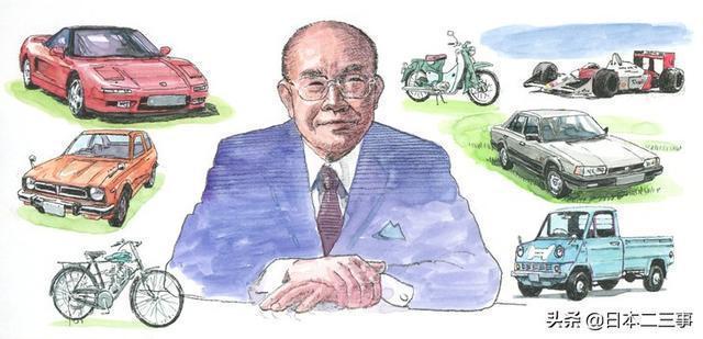 創立本田之人:日本汽車史上的傳說!