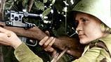 戰爭中了不起的女性,蘇德戰場上英姿颯爽的女狙擊手們