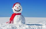 可愛的雪人風景