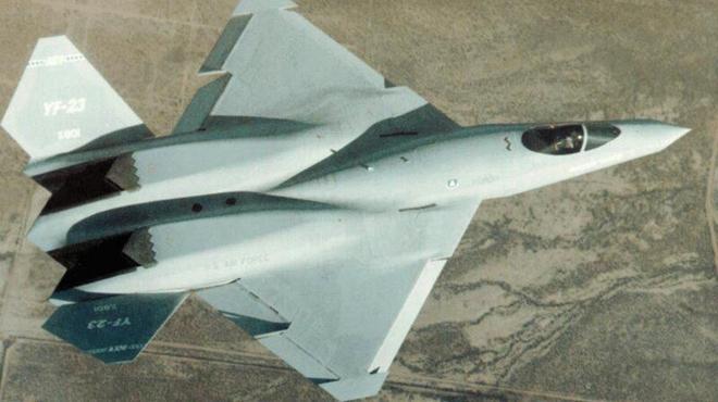 """諾斯羅普-麥道YF-23""""黑寡婦""""戰鬥機圖集"""