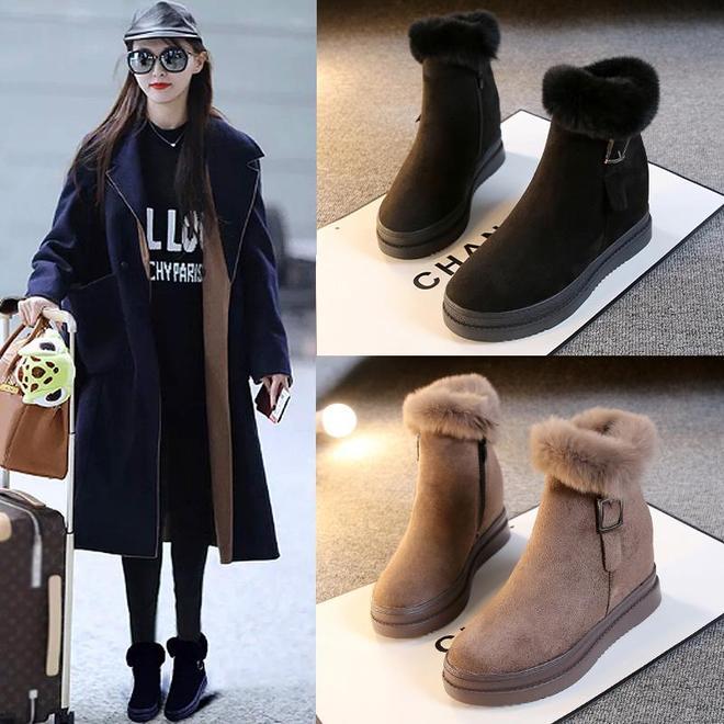 """新上一批""""顯高女靴"""",尤其適合小個子女人穿,洋氣保暖不累腳"""