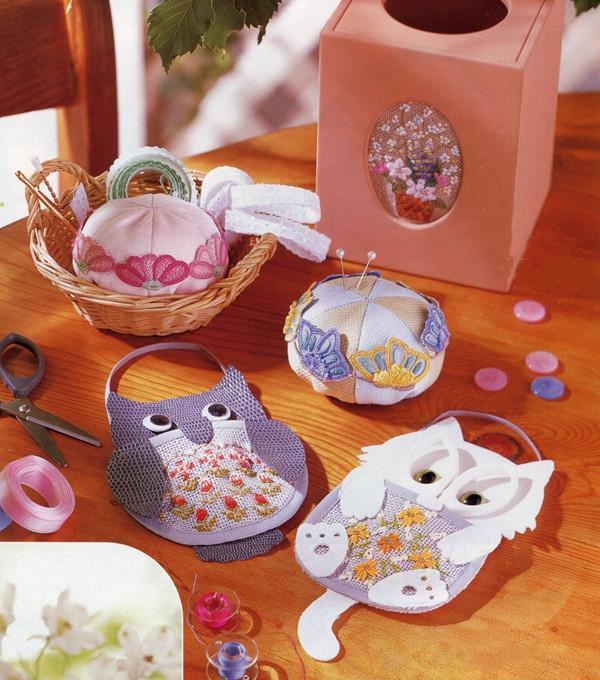 手工刺繡DIY:超美的刺繡小物,別偷看,看了你就想學刺繡哦