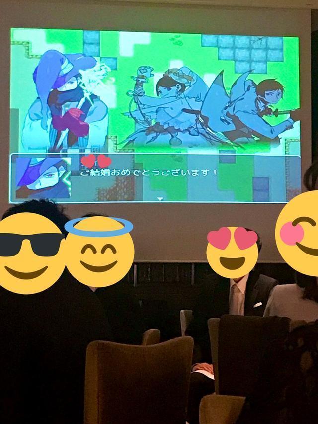 日本新人夫婦將婚禮做成遊戲,訪客來當NPC新人做主角