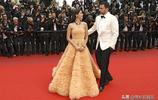 LA娛樂|西班牙超模薩拉·桑帕約,出席戛納電影節某電影紅毯