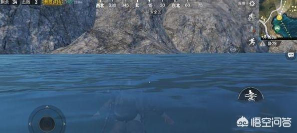 刺激戰場:毒圈在水裡真的無解?新手只會等待,王牌玩家會怎樣做,對此你怎麼看?