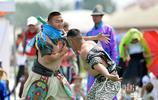 內蒙古:歡樂草原賽搏克