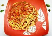 番茄培根意大利麵