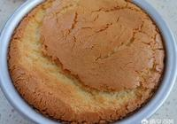 戚風蛋糕烤的時候為什麼會開裂?