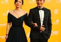 黃曉明太紳士,和韓國女星同框處處禮讓,宋慧喬濃妝像女王