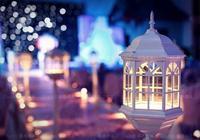 星空主題婚禮佈置圖 璀璨的星空場景