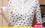 雪紡蕾絲打底衫加絨版冬季選它最保暖,最主要做洋氣又精緻的女人
