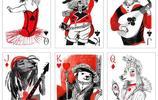 汪星人創意插畫撲克牌,舊金山的插花藝術創作的可愛狗狗主題撲克牌