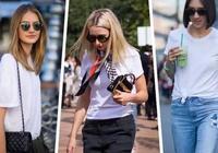 小白T恤已经烂大街,白T怎么搭才能穿出新鲜感?