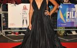 女明星時尚裝扮紅毯爭妍鬥豔,參加第62屆BFI倫敦電影節期間
