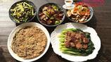 下班趕回家花了40分鐘做了5道家常菜,簡單美味,兒子最愛第2道菜