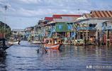 柬埔寨的水上人家,洞裡薩湖空邦魯浮村,無國籍人民真實生活實拍