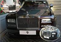 車牌是9,不是領導,但是香港巨星都叫他老闆,出行只坐勞特萊斯