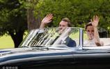 凱特王妃妹妹皮帕與富豪老公婚禮 開敞篷超跑入場酷炫似電影畫面
