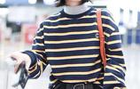 張子楓潮氣穿搭極具日系少女感,對鏡甜笑親和接地氣