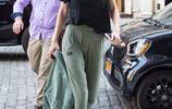 氣場2米!吉吉·哈迪德拎外套健步如飛 休閒褲依舊顯腿長露肩性感