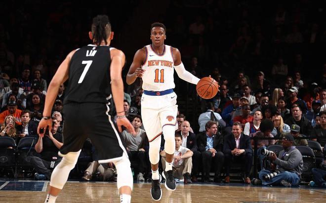 尼克斯不敵籃網,林書豪賣力防守紐約新秀