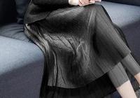 """今年最傾美的裙子,""""法式""""毛呢裙,36-57歲穿,國色天香"""