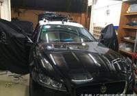 賞心悅目 捷豹XF汽車音響改裝丹拿