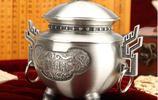 錫罐,普洱茶具,似銀非銀