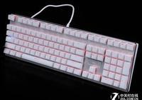 純潔之美 雷柏V700RGB冰晶版鍵盤評測