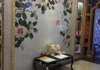 農村的兩層小別墅怎麼裝修好?客廳全屋貼瓷磚,電視背景牆該怎麼設計?
