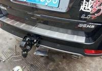 帶流氓鉤的哈弗H5被大眾追尾,車主下車後堅稱這是非法改裝