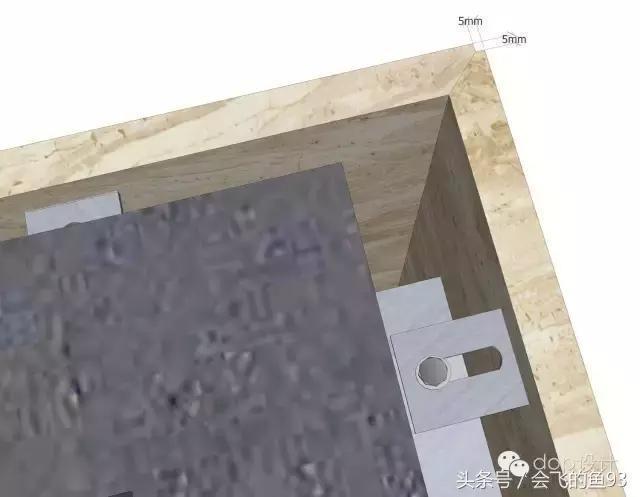 石材陽角對接樣式
