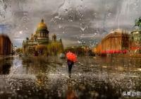 Ps教程來也,你知道怎麼用ps做出這種雨中油畫的質感嗎?