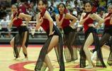 中國風,籃球寶貝扇子舞,夏季聯賽現場觀眾看呆了