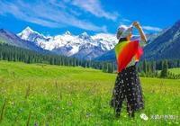 新疆夏塔景區,門票30元欣賞草原、冰川,還有可愛的旱獺與麋鹿