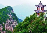 北頂神仙地中原小華山,河南這座山兼具南秀北雄,飛瀑流泉