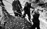 老照片:帶你去看紅旗渠是如何建造的,感受前輩奮鬥精神