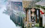浙江如畫小村鎮,小橋流水,漁舟唱晚
