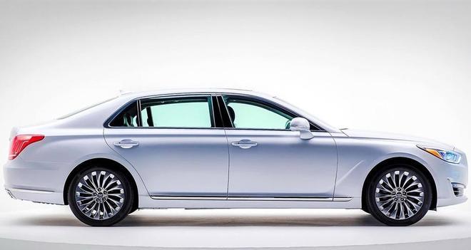 汽車圖集:現代Genesis G90汽車