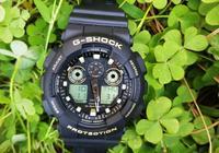 卡西歐的手錶到底好不好,casio卡西歐GA-100GBX手錶試用介紹